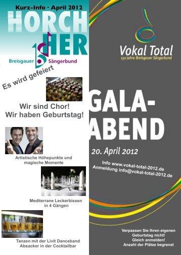 Horch Her - Breisgauer-Sängerbund