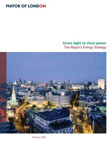 Mayor's biodiversity strategy london