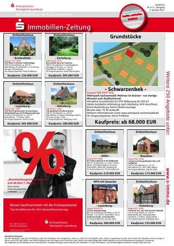 Kaufpreis - Kreissparkasse Herzogtum Lauenburg