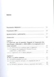 Proyecto de Apoyo al desarrollo del Sector Pesquero y Acuícola del ...