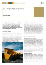 De Omgevingsvergunning - Vereniging BWT Nederland