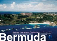 Summer Leadership Conference - ACHCA
