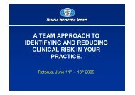 Managing Risk in General Practice (PDF Format)