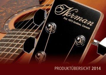 Norman Guitars 2014