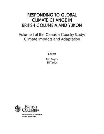 responding to global climate change in british ... - Climate Access