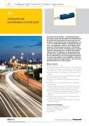 iPC — Intelligent Light Control for Outdoor Applications ... - Vossloh