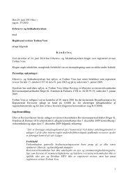 1 Den 29. juni 2011 blev i sag nr. 35/2010 Erhvervs ... - Revisornævnet