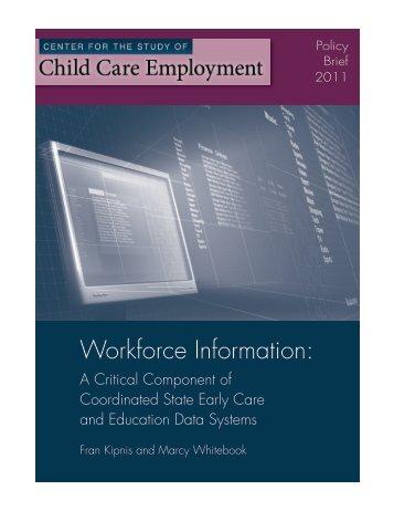 Workforce Information: - IRLE - University of California, Berkeley