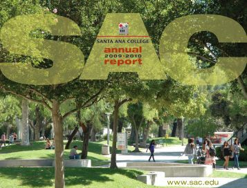 Annual Report 2009-2010 - Santa Ana College