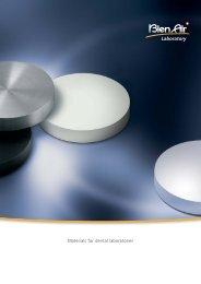 Materials for dental laboratories - Bien-Air