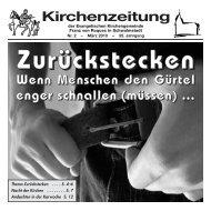 Kirchenzeitung - Ev. Kirchengemeinde Franz von Roques