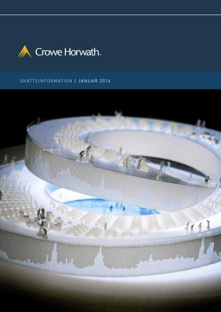 skatteinformation / januar 2014 - Crowe Horwath International