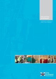 Community Benefits in Public Procurement - Scottish Government
