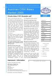 Ausgabe 2/2005 - CISV