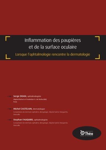 Inflammation des paupières et de la surface oculaire - Futurophta