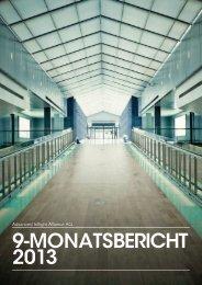 9-MONATSBERICHT 2013 - Advanced Inflight Alliance AG