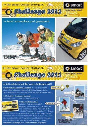 Ihr smart Center Stuttgart. - smart Challenge 2013