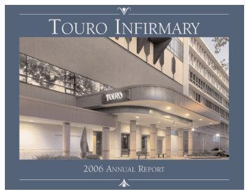 Annual Report - Touro Infirmary