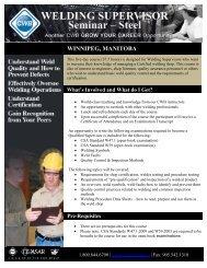 Winnipeg Supervisor Reg Form 2010 - CWB Group