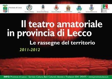 Cartolina - Provincia di Lecco