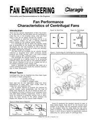 FAN ENGINEERING - Clarage