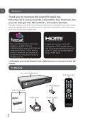 BFSAT01HD HD digital box Instruction Manual - Bush freesat - Page 2