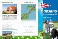 Das erwartet unsere Gäste Ferienbauernhof Weilandt - Hansano