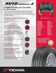 Tire Data Sheet (PDF) - Mr. Tire