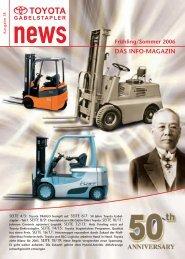 DAS INFO-MAGAZIN - Toyota Material Handling Deutschland