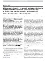 Efficacy and tolerability of systemic methylprednisolone in ... - AInotes