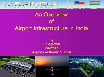 An Overview of Airport Infrastructure in India