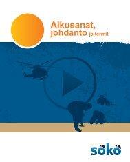 Alkusanat, johdanto ja termit - Kymenlaakson ammattikorkeakoulu