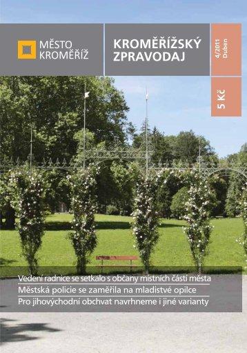 Vydání - 4 / 2011 - Město Kroměříž