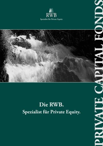 Die RWB. - Pfeffer-Finanzen