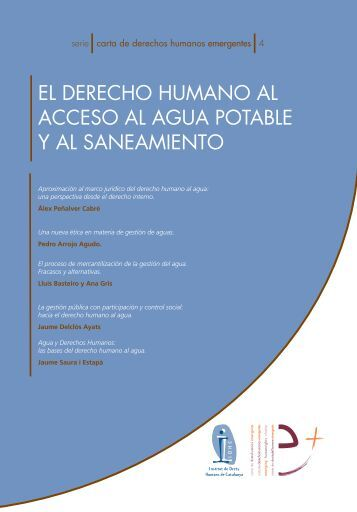 Carta de derechos humanos emergentes: El derecho humano al