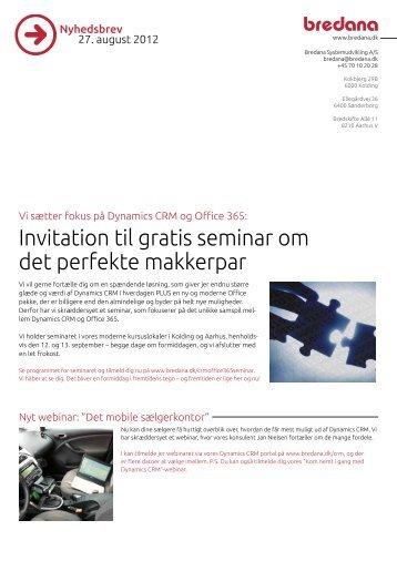 Invitation til gratis seminar om det perfekte makkerpar - scm.dk