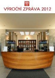 Výroční zpráva 2012 - Národní technické muzeum
