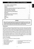 USER MANUAL M-130 PLUS MULTI - Free - Page 3