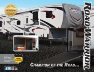View the Road Warrior manufacturer brochure - Western RV Country
