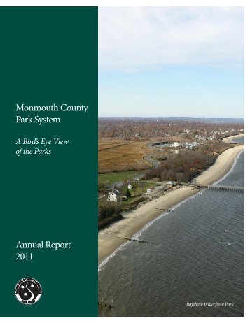 Monmouth County Park System Annual Report 2011