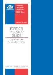 FOREIGN INVESTOR GUIDE - Embajada de la India en Chile