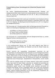 Neuer Verwaltungsrat der Schlachthof Eisacktal GmbH ernannt