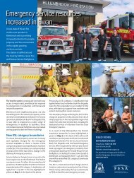 Property Owner's Advice - Department of Fire and Emergency Services