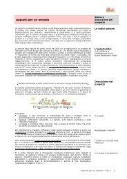 Storia e descrizione del progetto - Scuola Media Statale Dante ...