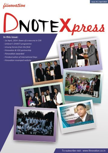 Dnote-Xpress,Issue1,April-2014