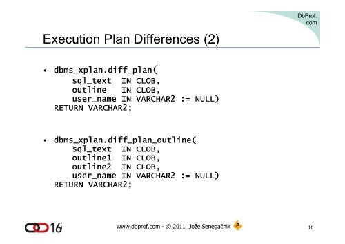 Execution Plan Difference