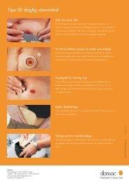 Tips till daglig stomivård