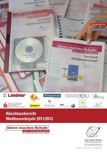 Das Wettbewerbsjahr 2011/2012 - Hans Lindner Stiftung