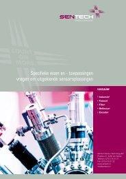 Sentech vacuum compatible sensors catalogus