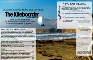 TIPS FOR VIEWING - The Kiteboarder Magazine
